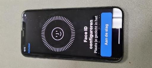 Iphone Face ID installatie