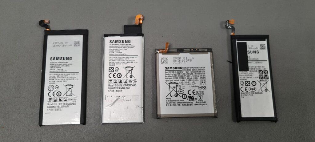 Samsung 4 batterijen