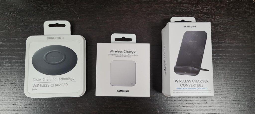 Draadloze opladers Samsung Telgefixt